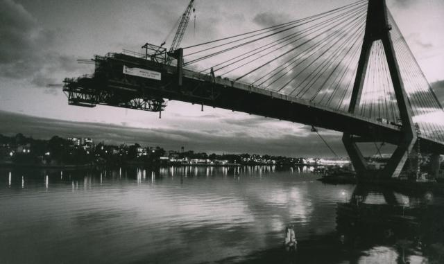 Anzac Bridge Pyrmont Sydney